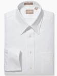 White French Cuff Point Collar Pinpoint Big & Tall Shirt | Big & Tall Shirts Collection | Fine Men Clothing