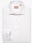 Royal Oxford White Wide Spread Big And Tall Shirt | Big And Tall Shirts Collection | Fine Men Clothing