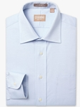 Light Blue Medium Spread Pinpoint Big & Tall Shirt | Big And Tall Shirts Collection | Fine Men Clothing