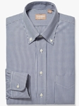 Navy Bengal Stripe Button Down Big And Tall Shirt | Big And Tall Shirts Collection | Fine Men Clothing