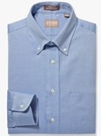 Blue Button Down Pinpoint Big And Tall Shirt | Big & Tall Shirts Collection | Fine Men Clothing