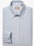 Blue Stripe Button Down Oxford Big & Tall Shirt | Big & Tall Shirts Collection | Fine Men Clothing