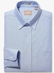 Blue Oxofrd Button Down Big And Tall Shirt | Big & Tall Shirts Collection | Fine Men Clothing