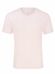 Pink V-Neck Modal Short Sleeve T-Shirt | Polos Collection |Sam's Tailoring Fine Men's Clothing