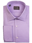 Lavender Oxford French Cuff Ike by Ike Behar Dress Shirt | IKE Behar Dress Shirts | Sam's Tailoring Fine Men's Clothing