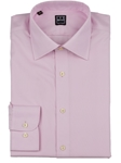 Pink Twill Spread Collar Men's Dress Shirt | IKE Behar Dress Shirts | Sam's Tailoring Fine Men's Clothing