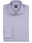 Lilac Panama Texture Weave Dress Shirt | IKE Behar Dress Shirts | Sam's Tailoring Fine Men's Clothing