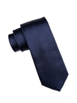 Navy with Sky Blue Micro Dot Tie | Ike Behar Ties Collection | Fine Men's Clothing