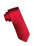 Berry with Grey Micro Dot Silk Tie | Ike Behar Ties Collection | Fine Men's Clothing