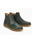 Dark Green Eco-Friendly Leather Lining Boot | Women Boots Collection | Sam's Tailoring