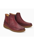 Red Eco-Friendly Leather Lining Women Boot | Women Boots Collection | Sam's Tailoring