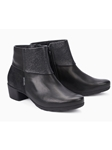 Black Nubuck With Rainbow Effect Women Boot | Women Boots Collection | Sam's Tailoring