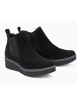 Black Warm Lining Women's Chelsea Boot | Women Boots Collection | Sam's Tailoring