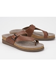 Desert Smooth Leather Buckle Fastener Sandal | Women's Classic Sandals | Sams Tailoring