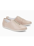Light Silk Smooth Leather Laces Women Shoe | Women's Flat Shoes | Sams Tailoring
