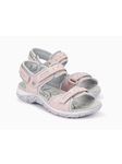 Light Pink Smooth Leather Women Outdoor Sandal | Women's Outdoor Shoes  | Sams Tailoring