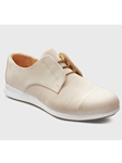 Buff Nubuck With White Sole Women's Shoe | Fine Women's Shoes | Sam's Tailoring
