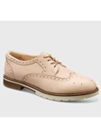 Blush Leather With Ivory Sole Women's Shoe | Fine Women's Shoes | Sam's Tailoring