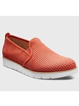 Coral Nubuck With White Sole Women's Shoe | Fine Women's Shoes | Sam's Tailoring