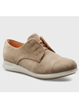 Taupe Suede Light Grey Sole Women Shoe | Fine Women's Shoes | Sam's Tailoring