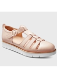 Blush Leather White Sole Women's Sandal | Fine Women's Shoes | Sam's Tailoring