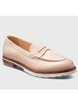 Blush Leather Ivory Sole Women's Dress Shoe | Fine Women's Shoes | Sam's Tailoring