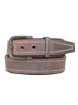 Sienna Oil Tanned Harness Leather Casual Belt | Lejon Belts collection | Sam's Tailoring Fine Men Clothing