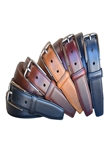 Wine Oiled Tanned Harness Leather Men's Belt | Lejon Belts collection | Sam's Tailoring Fine Men Clothing