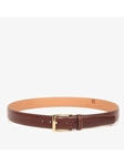 Honey Maple Cortina Leather Leather Dress Belt | Trafalgar Belts Collection | Sams Tailoring Fine Men Clothing