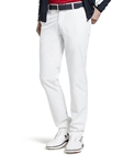 White Augusta Ultra Stretchy Golf Chino | Meyer Golf Collection |  Sam's Tailoring Fine Men Clothing