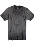 Basalt Grey Short Sleeves Vintage Washed t-shirt | Georg Roth Crew Neck T-shirts | Sam's Tailoring Fine Men Clothing