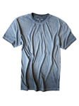 Capri Blue Garment Dyed Short Sleeves t-shirt | Georg Roth Crew Neck T-shirts | Sam's Tailoring Fine Men Clothing