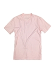Pink V-Neck Pima Cotton Short Sleeves T-shirt | Georg Roth V-Neck T-shirts | Sam's Tailoring Fine Men Clothing