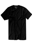 Black V-Neck Men's Short Sleeves T-Shirt | Georg Roth V-Neck T-shirts | Sam's Tailoring Fine Men Clothing