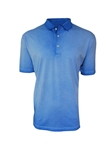 Blue Luxe Pima Short Sleeves Mens Polo | Georg Roth Los Angeles Polos | Sam's Tailoring Fine Men Clothing