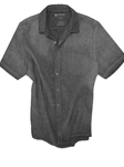 Basalt Grey Plata Del Rey Short Sleeves Shirt | Georg Roth Short Sleeves Shirts | Sams Tailoring Fine Mens Clothing