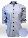Blue Palos Verdes Long Sleeves Men's Shirt | Georg Roth Solid Shirts | Sams Tailoring Fine Mens Clothing