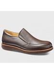 Dark Brown Leather With Black Sole Men's Shoe | Samuel Hubbard Shoes | Sam's Tailoring Fine Men Clothing