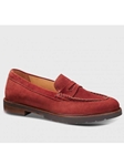 Paprika Suede With Black Sole Women's Loafer | Samuel Hubbard Women Shoes | Sam's Tailoring Fine Men Clothing