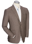 Brown Andrew Wool-Cashmere Houndstooth Sport Coat | Bobby Jones Sport Coats Collection | Sams Tailoring Fine Men Clothing