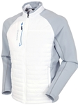 Pure White/Magnesium Hamilton Hybrid Climaloft Thermal Jacket | Bobby Jones Sport Coats Collection | Sams Tailoring Fine Men Clothing