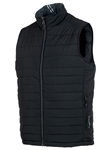 Black/Charcoal Michael Reversible Climaloft Thermal Vest | Bobby Jones Vest Collection | Sams Tailoring Fine Men Clothing