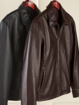 Brown Classic Lambskin Leather Windbreaker Jacket | Bobby Jones Jackets Collection | Sams Tailoring Fine Men Clothing
