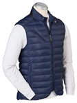 Midnight Ink Camden Quilted Full Zip Men's Vest | Bobby Jones Vests Collection | Sams Tailoring Fine Men Clothing