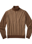 Natural Herringbone Cashmere Turtleneck Sweater | Bobby Jones Sweaters Collection | Sams Tailoring Fine Men's Clothing