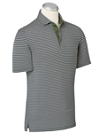 Kapers EFX Dontello Layered Stripe Polo Shirt | Bobby Jones Polos Collection | Sams Tailoring Fine Men's Clothing