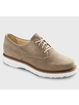 Sand Suede With White Sole Women's Shoe | Samuel Hubbard Women Shoes | Sam's Tailoring Fine Men Clothing