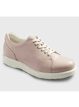 Pale Pink Full Grain Leather WIth White Sole Shoe | Samuel Hubbard Women Shoes | Sam's Tailoring Fine Men Clothing
