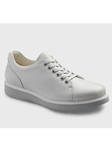 White Cloud Full Grain With Light Grey Sole Women Shoe | Samuel Hubbard Women Shoes | Sam's Tailoring Fine Men Clothing