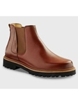 Whiskey Tan Leather With Black Sole Womens Boot | Samuel Hubbard Women Shoes | Sam's Tailoring Fine Men Clothing